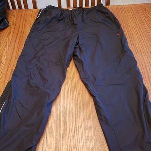 Nike insulated windbreakers zip up legs